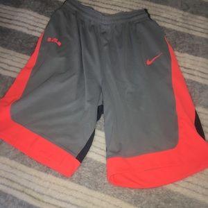 Nike Lebron Basketball Shorts Dri Fit